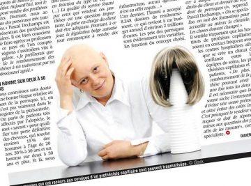 Des moyens pour leffet des cheveux mouillés